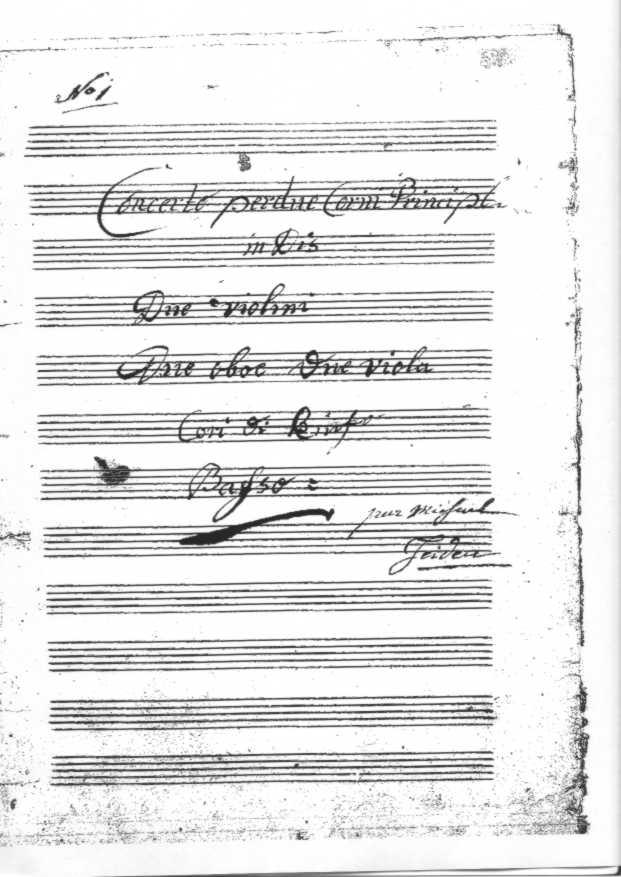 french-horn.net - Haydn oder Rosetti? Das Konzert in Es-Dur für zwei ...